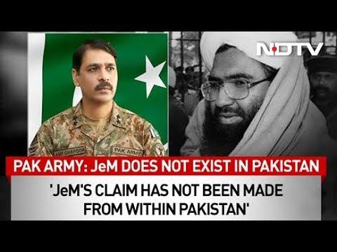 पावती, फिर इनकार: पाकिस्तान & # 39; रों फ्लिप फ्लॉप पर जैश-ए-मोहम्मद