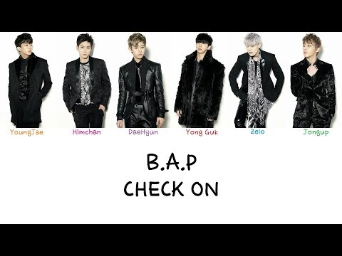 B.A.P - Check On (Color coded lyrics Han|Rom|Eng)
