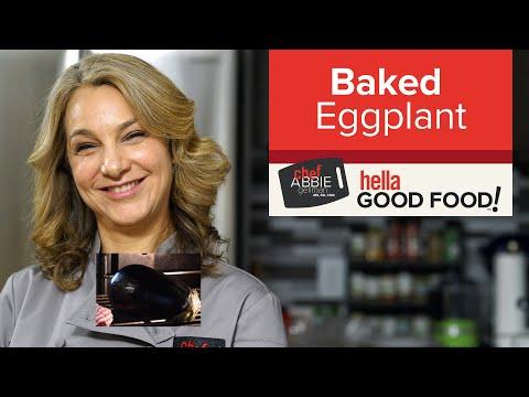 Whole Baked Eggplant