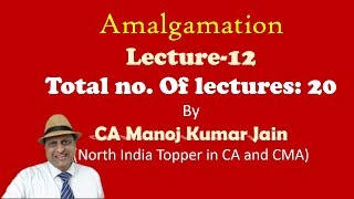 Amalgamation for CA Inter | Lecture 12 Ratio of Exchange Redemption of Deb and PS