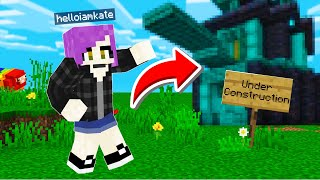 Opening my FIRST store with SECRET MAGIC [Camp Minecraft]