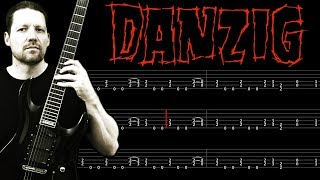 Twist Of Cain DANZIG : Guitar Tab + Lesson