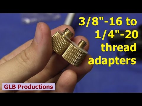 """SmallRig 3/8"""" to 1/4"""" thread adapter pack review"""