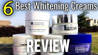 Top 6 Whitening Creams in Pakistan, Which Cream can Give you instant Whitening Urdu Hindi