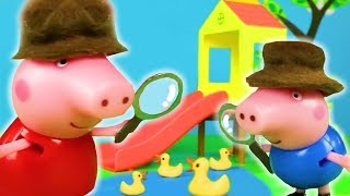 Peppa Pig Official Channel 🕵️♀️ Peppa Pig Stop Motion: Detective Peppa Pig