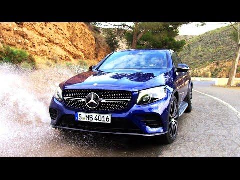 Mercedesbenz Glc Class Coupe Кроссовер класса J - рекламное видео 1