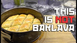 I tried making Baklava.. accidentally made THICCLAVA