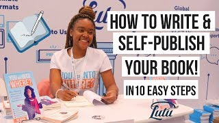 How to Write a Book: 10 Simple Steps to Self Publishing