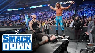 King Corbin and his court slam Roman Reigns through a table: SmackDown, Jan. 10, 2020