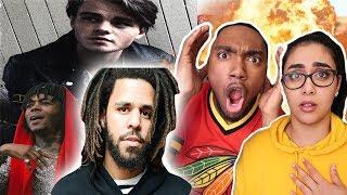 J.I.D, J. Cole   Off Deez (Audio) Ft. J. Cole | REACTION VIDEO 🔥 | OMG J COLE IS ON FIRE 😱🔥 Froat