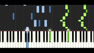 K-391 - Earth - Synthesia piano tutorial