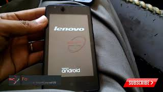 Lenovo A1000 hard reset, factory reset, forgot password recovery