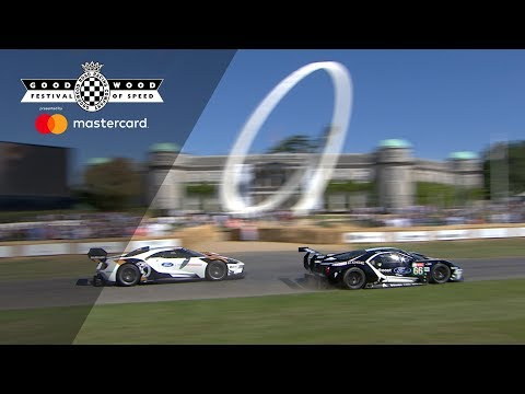 Ford GT MkII makes incredible debut with Le Mans racer at FOS