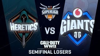 HERETICS KFC vs VODAFONE GIANTS | Superliga Orange CoD | SEMIFINAL DEL LOSERS