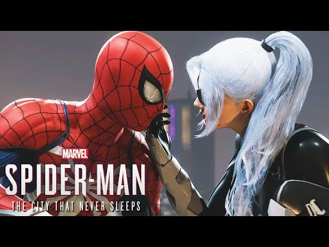 All Black Cat Scenes - Spider-Man PS4 THE HEIST