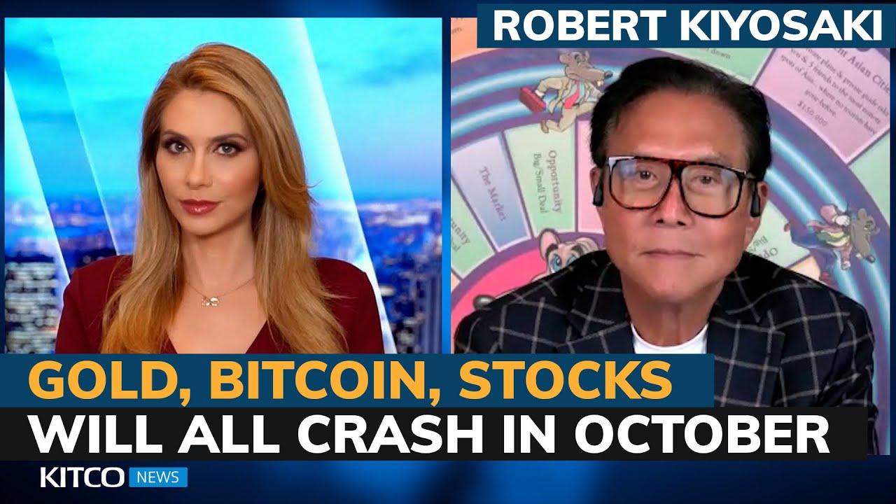 Robert Kiyosaki: 'The most significant crash in world history' strikes this October thumbnail