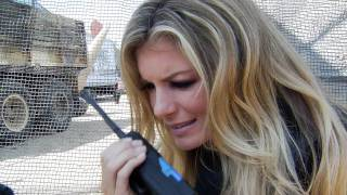 Call Of Duty XP 2011: Marisa Miller Is Serious About Paintball