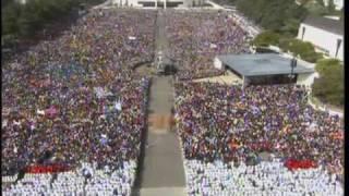 Fatima: Messe sur l'esplanade du Sanctuaire