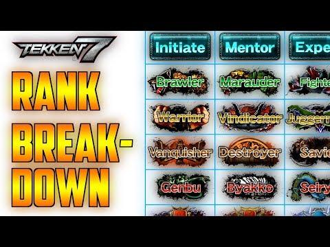 Not Ranking Up Arcade After 1st Dan Tekken 7 General Discussions