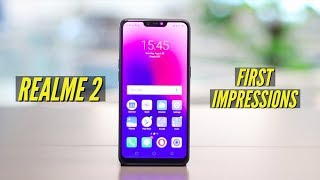 Realme 2 First Impressions | A pleasant experience at a great price