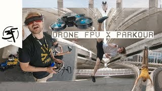 Drone FPV x Parkour - French Freerun Family BTS