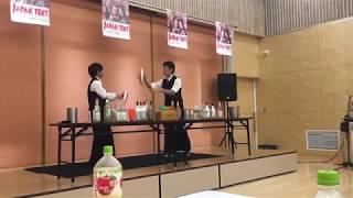 【姉妹店エールカフェ】出張カクテルパフォーマンス2