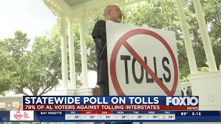 Poll shows statewide opposition to Mobile River Bridge toll