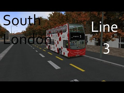 Night Bus (N3) - The South London Project - OMSI 2 - Part 1