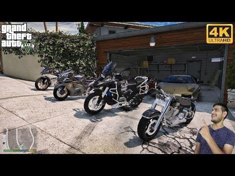 GTA 5 : FRANKLIN GOT HIS BIKES BACK 😍