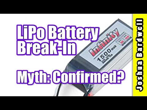 Does LiPo Battery Break In Make A Difference   FINALLY A REAL ANSWER