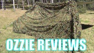 Tenda Jaring Militer Kamuflase Camping Camouflage 2x3M