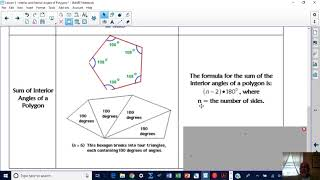 Lesson 3 - Interior and Exterior Angles of Polygons