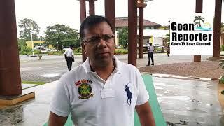 Goan Reporter:CM Dr Pramod Sawant is taking strict action on Drugs issue:Health Min V Rane