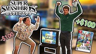 I Challenged Strangers At Super Smash Bros. Ultimate For $100