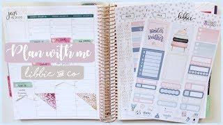 Plan With Me - Sweater Weather | Erin Condren Life Planner + Libbie and Co | Romina Vasquez
