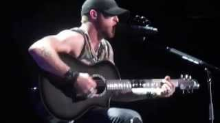 Brantley Gilbert - Whenever We're Alone/Best of Me/Picture on the Dashboard Medley - Omaha, NE