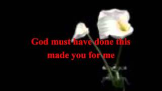 Johnny Gill-You for me(with lyrics on screen)! [HD]
