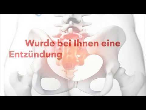 Massagegerät für degenerative Scheibenerkrankung des Halswirbels