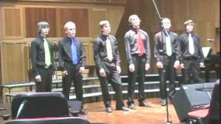 The Fellas performing Fields of Gold (Acapella) at Men in Harmony, Hobart, 2008.mpg