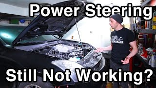 Hard To Turn Steering? [How to Diagnose Lower Universal Joint (U-Joint) // G35 Build]