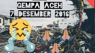 VIDEO LIVE DetikDetik GEMPA 64 SR ACEH 7 Desember 2016