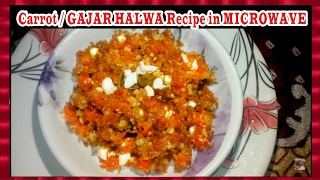 Carrot / GAJAR HALWA Recipe in MICROWAVE | Very Tasty & Easy to make | Shubhangi Keer