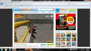 Free Running Game Miniclip Level 1