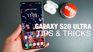 GALAXY S20 ULTRA: 25+ Tips and Tricks!