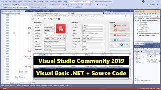 VB.NET 2019 Searching Data in an Access Database Part 1/3
