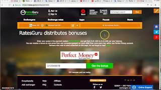 ربح مجاني والدفع مباشر ومكافئة1$ من موقع Exchange rates.guru