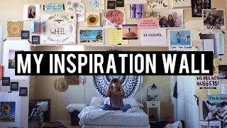 My Inspiration Wall | Artwork, Quotes, Artists, Etc.