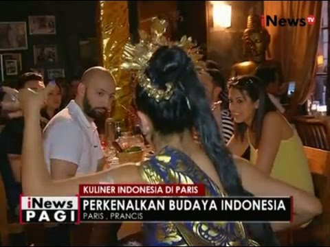 Video Ternyata Ada Rumah Makan Khas Indonesia di Paris, Perancis - iNews Pagi 25/07