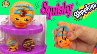DIY Squishy Dolly Donut Shopkins Season 4 Inspired Easy Craft Do It Yourself - Cookie Swirl C Video