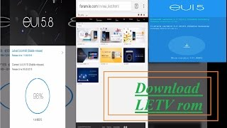 Download LETV official ROM without SYSTEM UPDATE